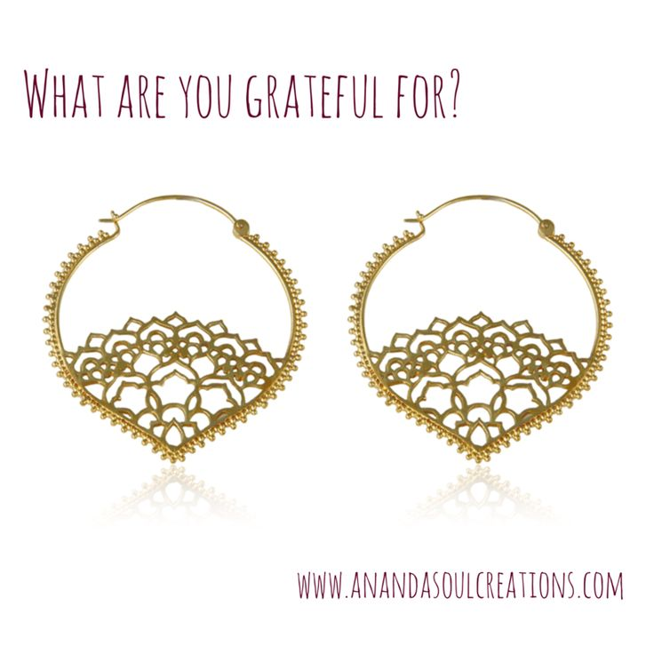 What are you focusing on today? Who or what is bringing you joy right this moment? Look. Pay attention. Notice. There's reasons to be grateful all around  Tears of Gratitude earrings available at www.anandasoulcreations.com #gratitude #luxe #luxury #earrings #boho #yoga #jewelry #anandasoul #bali