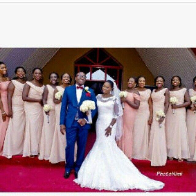 Ghh Wedding Whiteushersgroomsmenbridesmaids