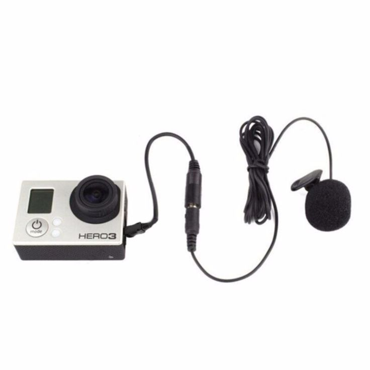 Clip Microphone for Gopro hero 3 + 4 //Price: $8.99 & FREE Shipping //     #Photographer
