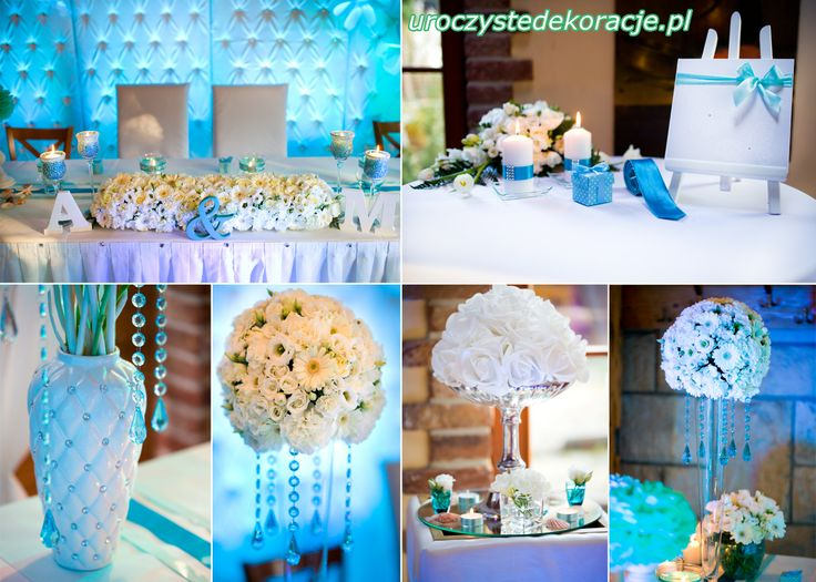 Propozycje dekoracji stołu weselnego