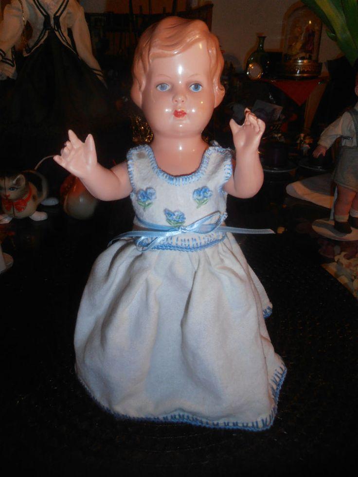 RAR - Minerva Mädchen aus den 40ér Jahren, ca. 25 cm groß   eBay