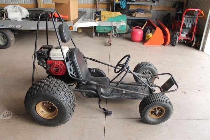 Manco Dingo Go Kart 285 18 Dingo 5 5HP   eBay