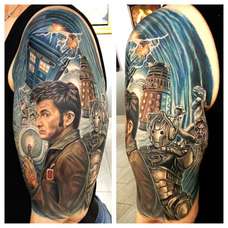 dr who tattoo - Google Search