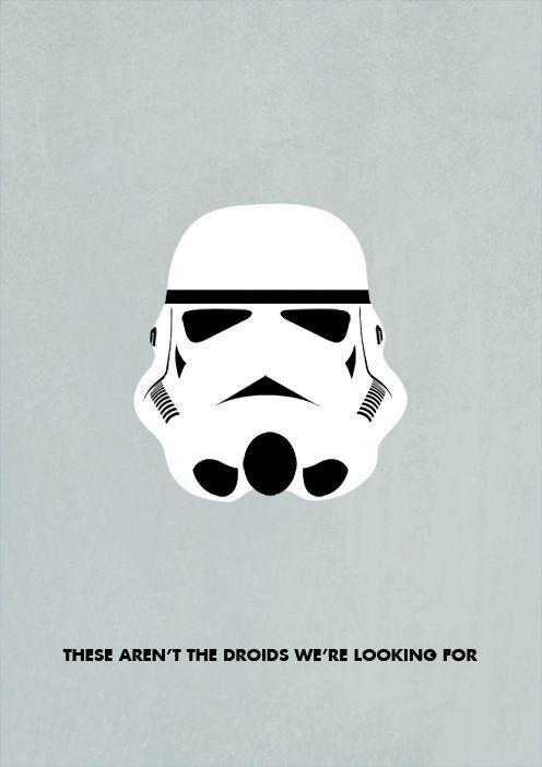 Le Bouquinovore: Star Wars Minimaliste