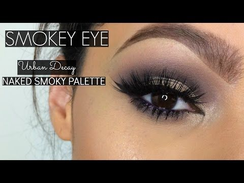 Urban Decay Naked Smoky Palette | Date Night Smoky Eye - YouTube