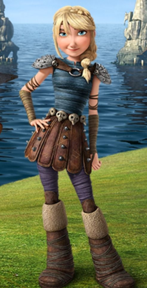 How to Train Your Dragon 2 Astrid Dreamworks