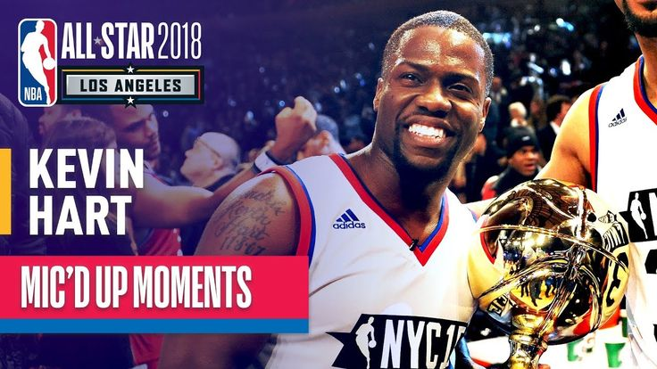 Watch how Kevin Hart debuted this year NBA All-Star Game. You gonna love it.