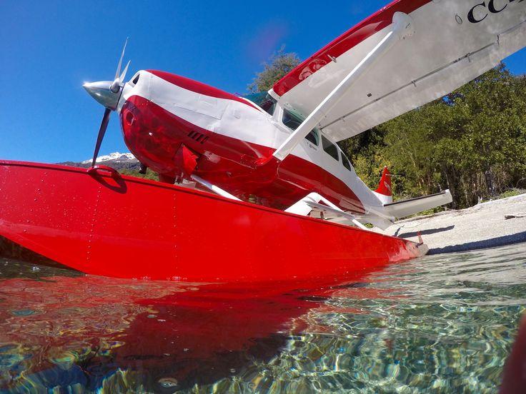 cessna floatplane in Patagonia Chile