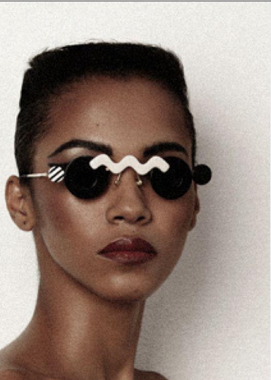 eyewear O-O    mercura pop art sunglasses in vanidad magazine 2013.