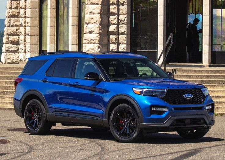 2020 Ford Explorer ST Represents One In Five Explorers