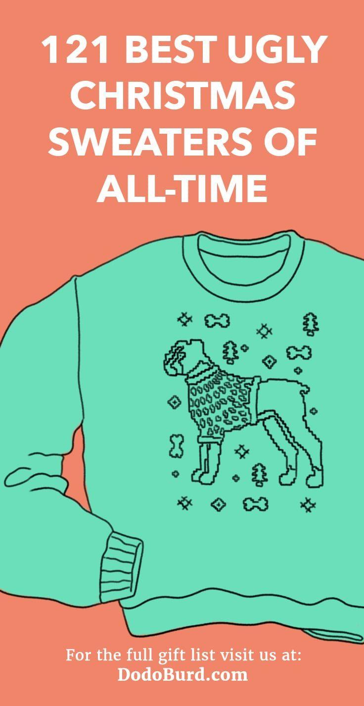 121 Best Ugly Christmas Sweaters of 2018 (ERMAHGERD!)   2018 ...