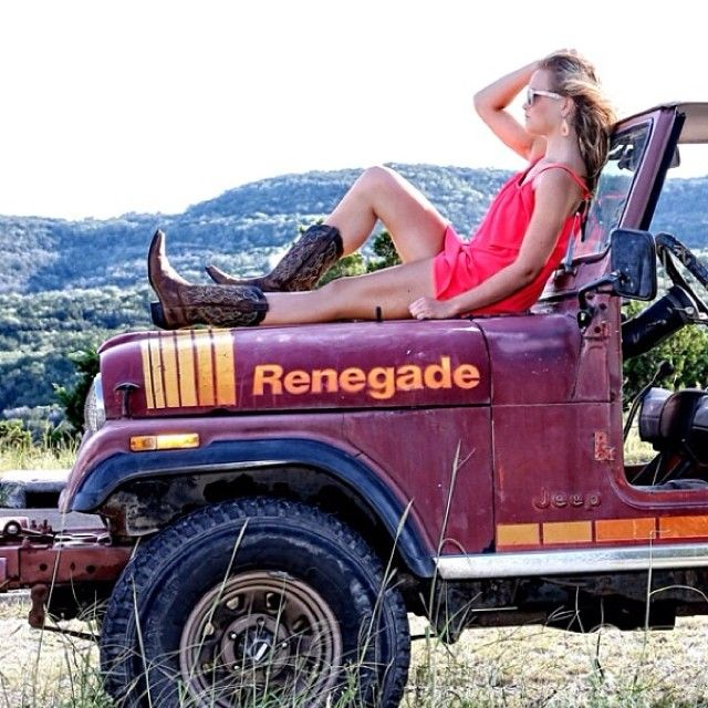 Renegade with Jeep Girl <3