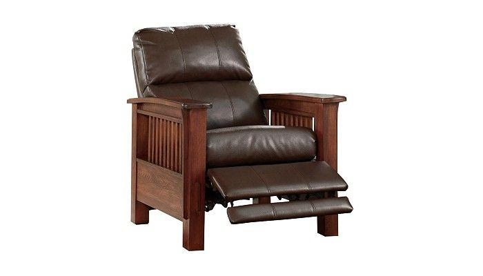 Slumberland furniture wright collection bark recliner - Slumberland living room furniture ...