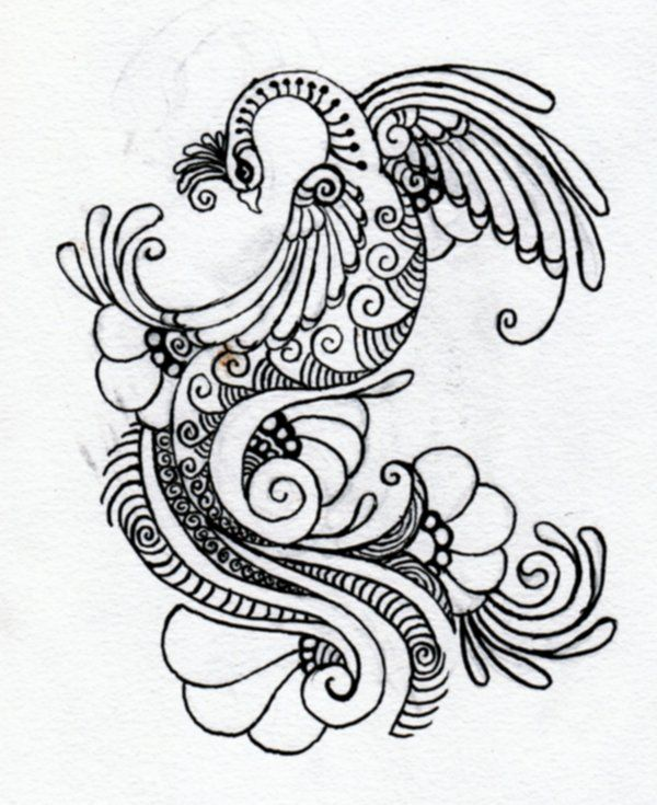 Line Drawing Of Peacock : Best images about mehndi designs on pinterest