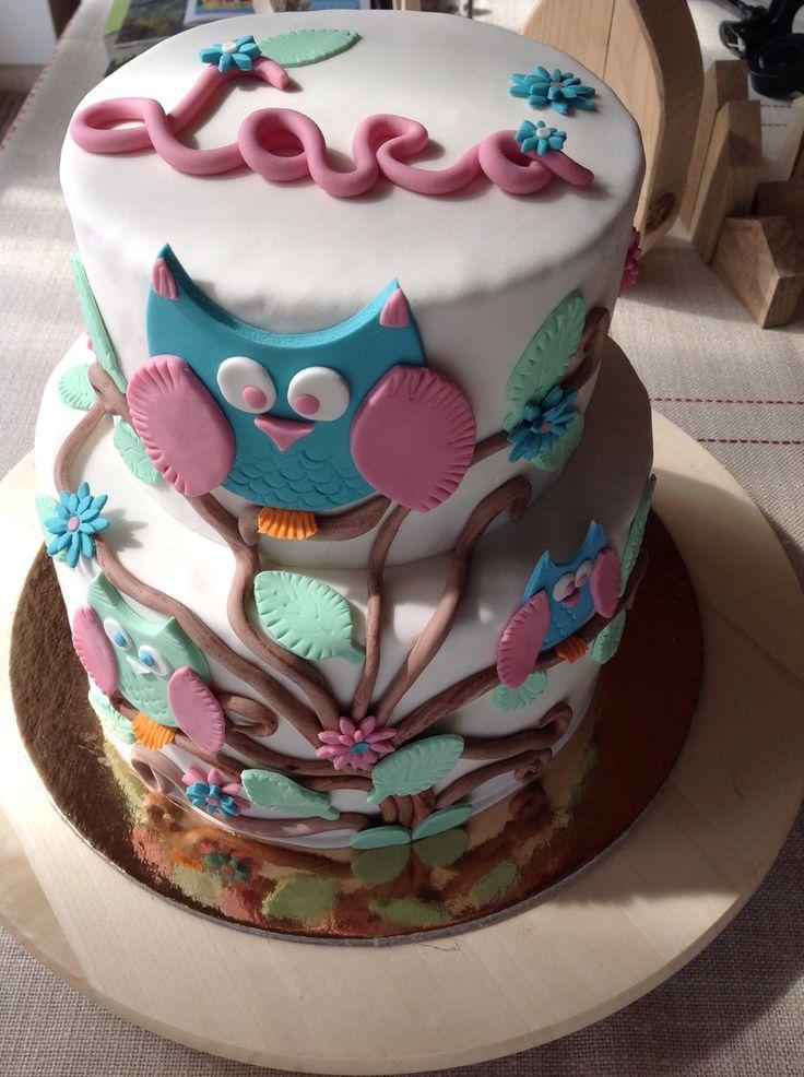 Owl cake 2