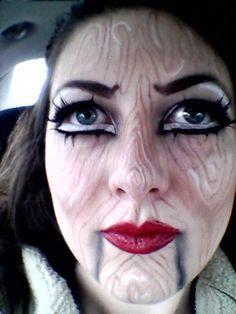 Ventriloquist Costume on Pinterest | Ventriloquist Makeup, Insane ...