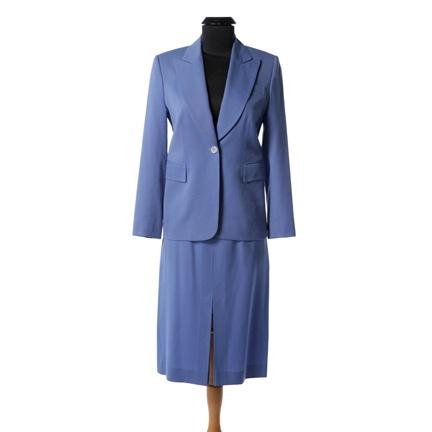 ANCHORMAN Veronica Corningstone (Christina Applegate) blue skirt suit   Womenu0026#39;s Costumes ...