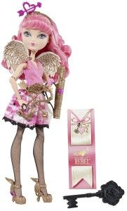 Ever After High Dolls: C.A. Cupid Doll The most notable with this doll is the attention to details, from her beautiful face, the heart and arrow headband, painted wings, belt, skirt design, bows and arrows, and the pretty shoes.  http://awsomegadgetsandtoysforgirlsandboys.com/ever-after-high-dolls/ Ever After High Dolls: C.A. Cupid Doll