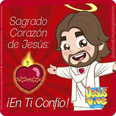 Jesús Vive® – Sagrado Corazón de Jesús, en Ti confío