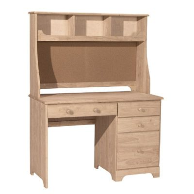Available Fall 2014. With Or Without The Top Hutch. Solid Parawood Perfect  For Your
