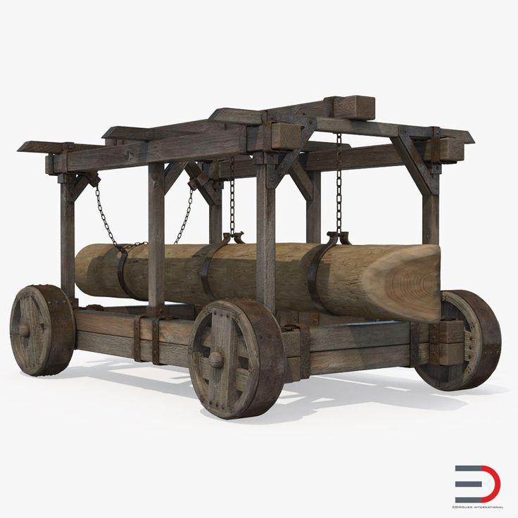 3D Battering Ram 3D Model model