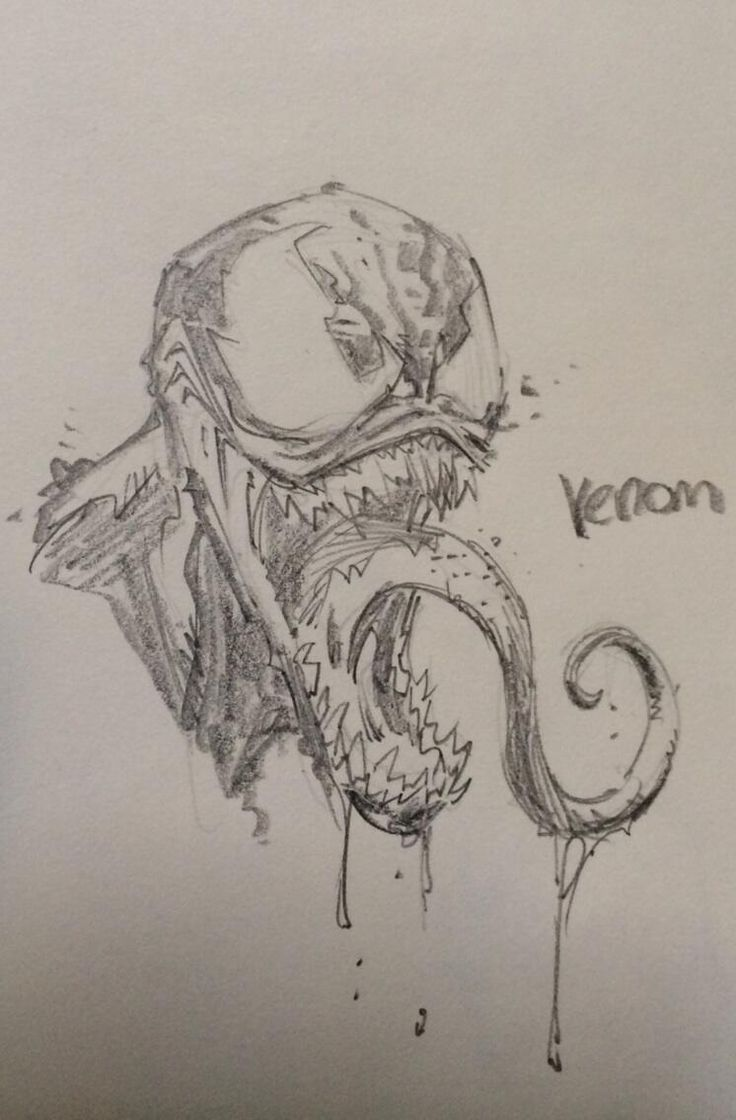 Venom by Greg Capullo. Oooh! Now that would be really cool if Greg Capullo did some Venom comics!