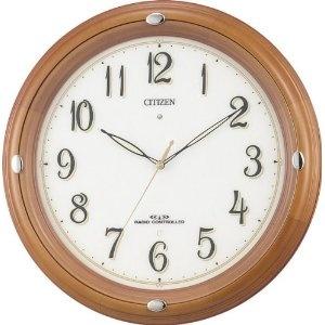 Designer Watch - CITIZEN (シチズン) 掛け時計 ネムリーナフーガ 電波時計 4MY646-006 | 最新の時間センター
