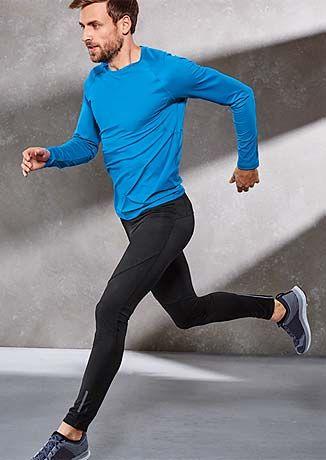 Funkční sportovní outfity: běhání a jogging v zimě – v Tchibo