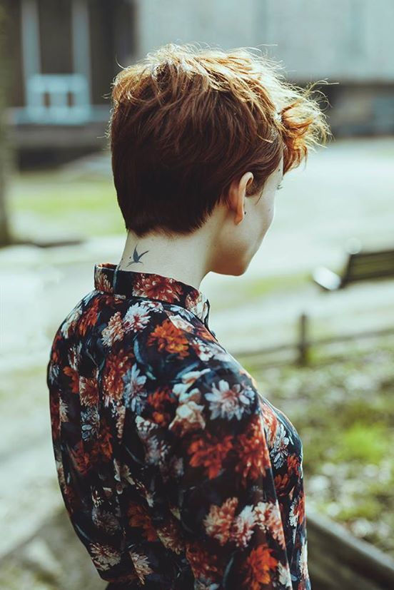 Pixie cut | photo by Solenne Jakovsky