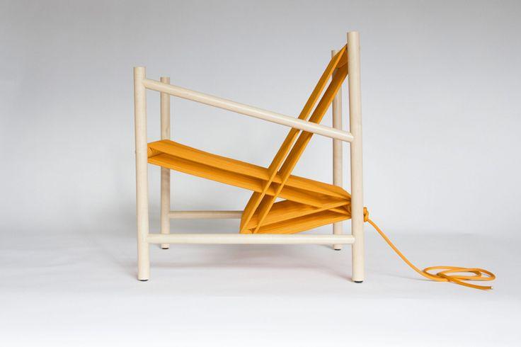 Loom Chair by Laura Carwardine
