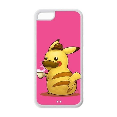 The Cute Japanese Anime Pokemon Pikachu And Other Elfins For Iphone 5C Best Rubber Case 3