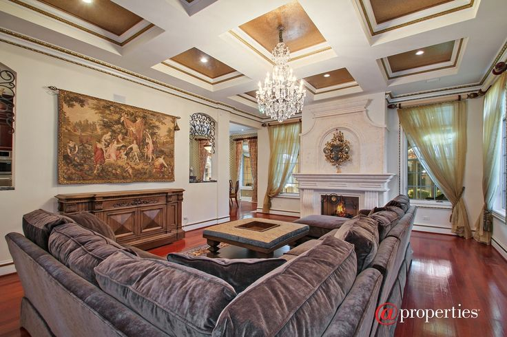 FAMILY ROOM CHANDELIER AND TAPESTRY  1450 Grant Rd, Northbrook, IL 60062   MLS #09151114 - Zillow