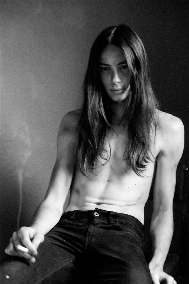 long hair male dating