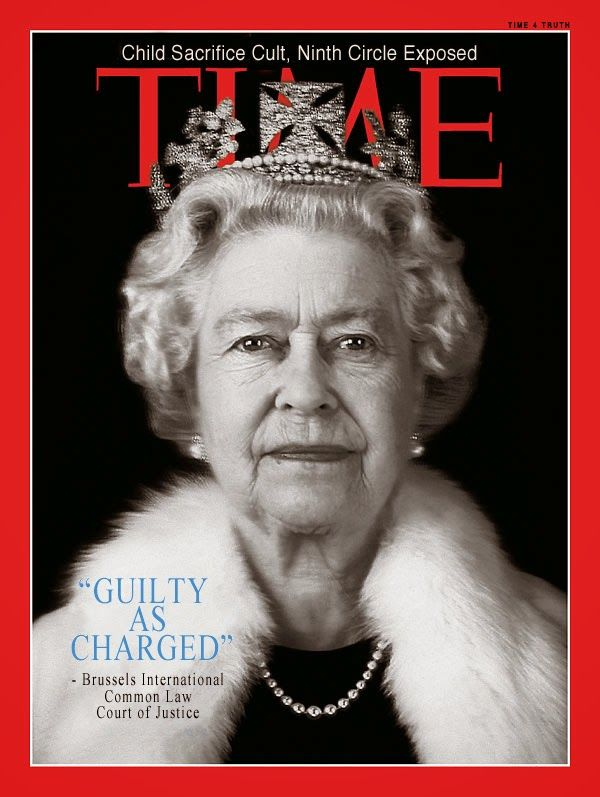 Queen Elizabeth Found Guilty in Missing Children Case -- Whistle Blowers Incarcerated, While She is Free   Humans Are Free