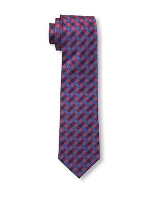 65% OFF Ben Sherman Men's Maple Gingham Tie, Navy/Red