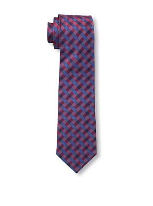 55% OFF Ben Sherman Men's Maple Gingham Tie, Navy/Red