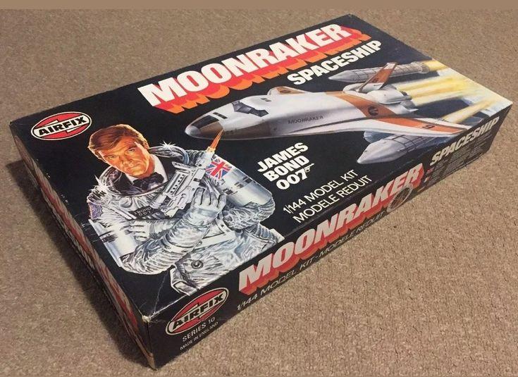 Airfix James Bond Moonraker Spacship