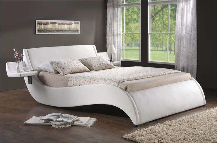 17 mejores ideas sobre lit 160x200 en pinterest la mezzanine camas del ni - Lit blanc 160x200 pas cher ...