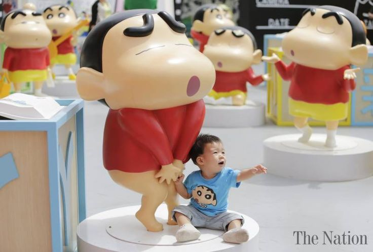 Japanese cartoon character exhibition