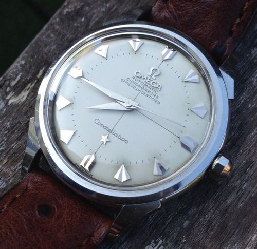 Clean Vintage Omega Constellation Chronometer With Crosshair...