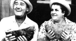 anna longhi & alberto sordi |  celebrities &food