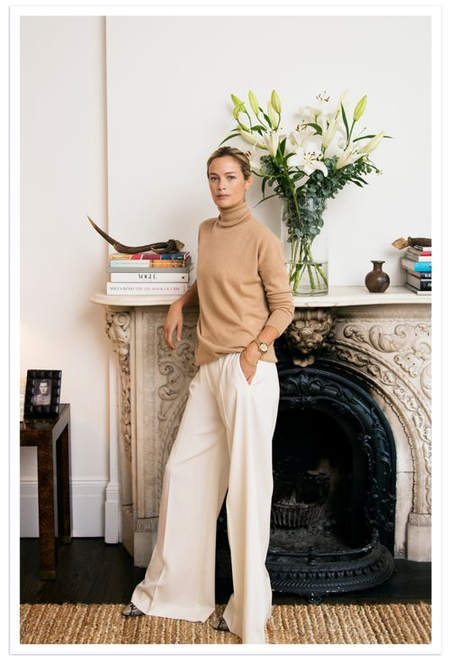 Habitually Chic® » Carolyn Murphy at Home