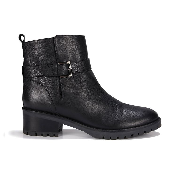 Leather Biker Boots | Shoes & Sandals | Accessories | Clothing | The White Company UK