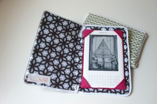 Lots of tutorials to make your own kindle case, I just can't decide whence type to go for.....