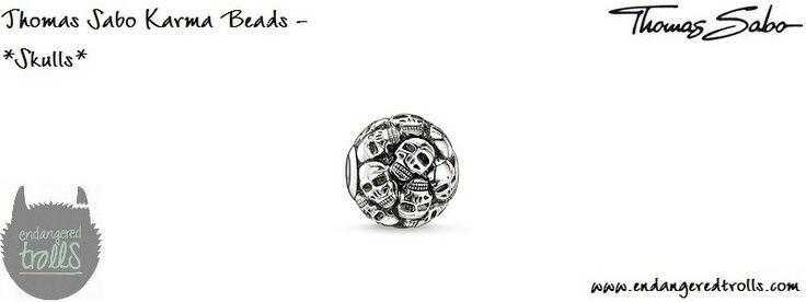 Thomas Sabo Karma Beads Skulls