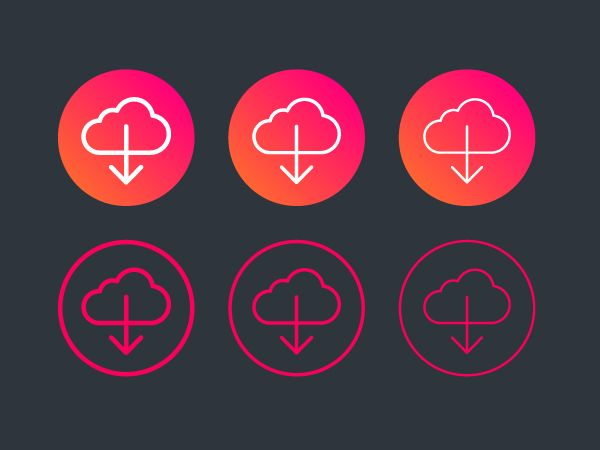 400 Fineline icons by ikonome