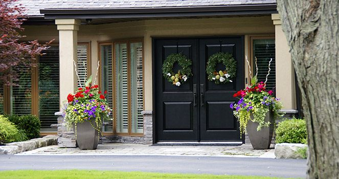 You can have new # doors installed to replace any of the old - home remodeling contract