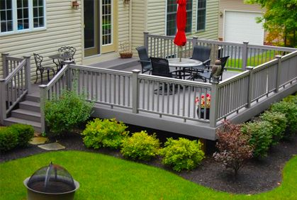 Trek Decking Ideas | Top Composite Decking Reviews Photos & Design Ideas