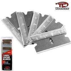 100 Piece Single Edge Razor Blades-5 Pack