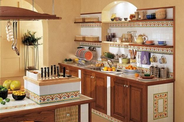 traditional kitchen interiors in classic style